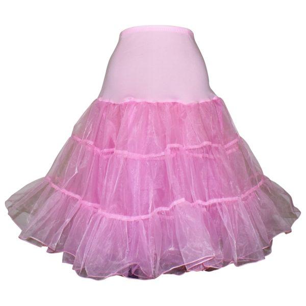 Pale pink organza petticoat
