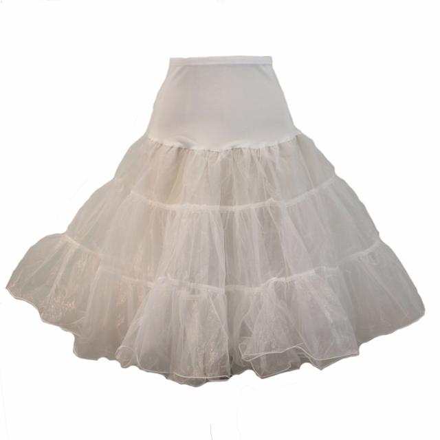 Full Organza Petticoat - Ivory