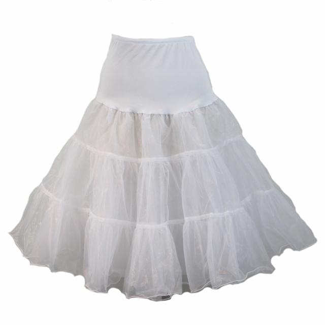 Full Organza Petticoat - White