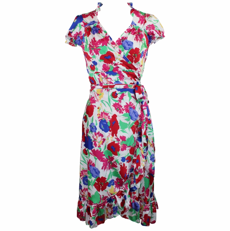Dita Wrap Dress - Floral