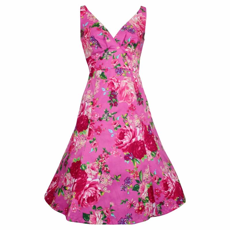 Kerryn Dress - Pink on Pink
