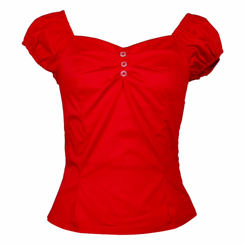 Carmen Top - Red