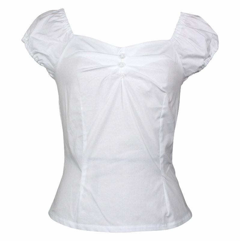 Carmen Top - White