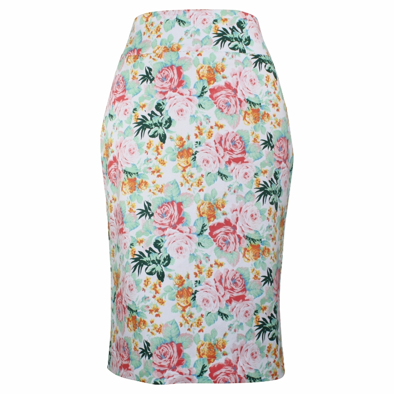Tiffany Pencil Skirt - Baby Pink