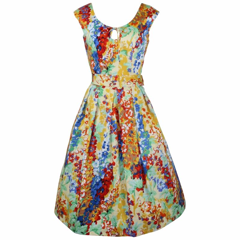 Peekaboo Dress - Lupins