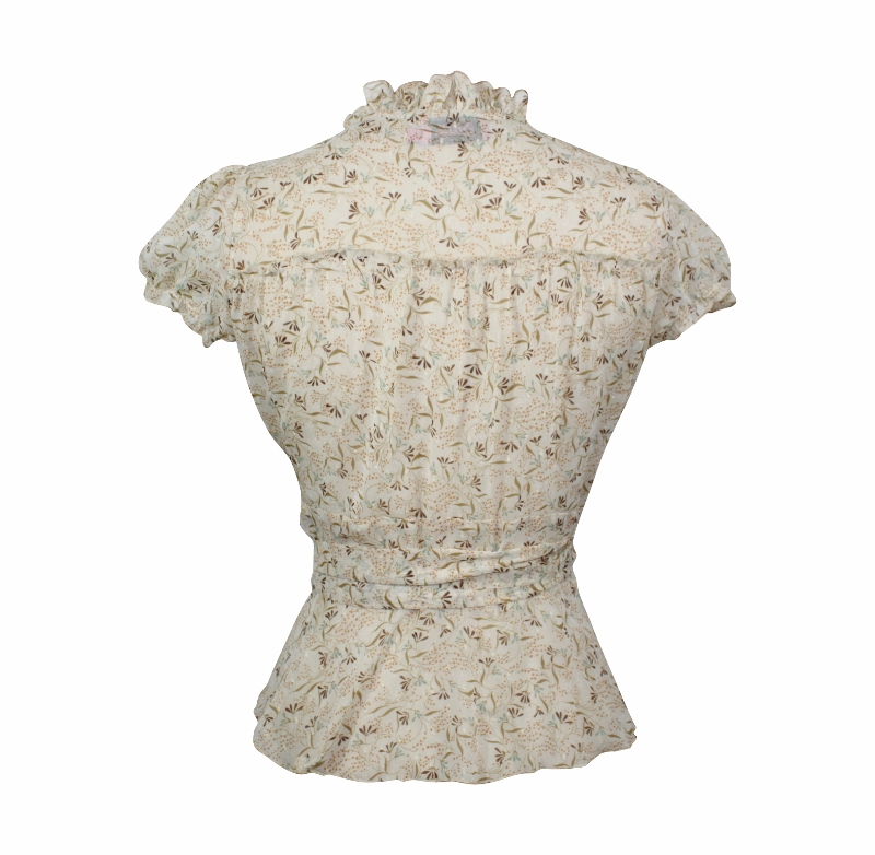 Dita Wrap Blouse - Cream