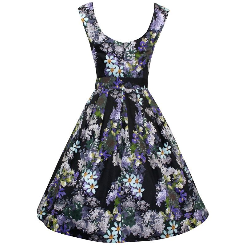 Julie Dress - Lilac & Iris
