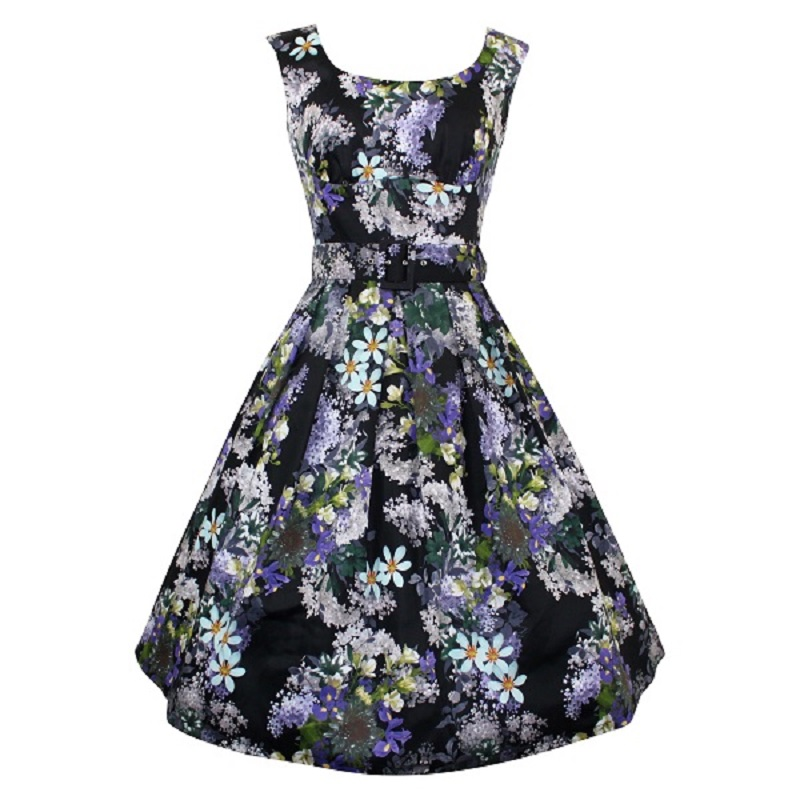 Julie Dress - Lilac & Iris
