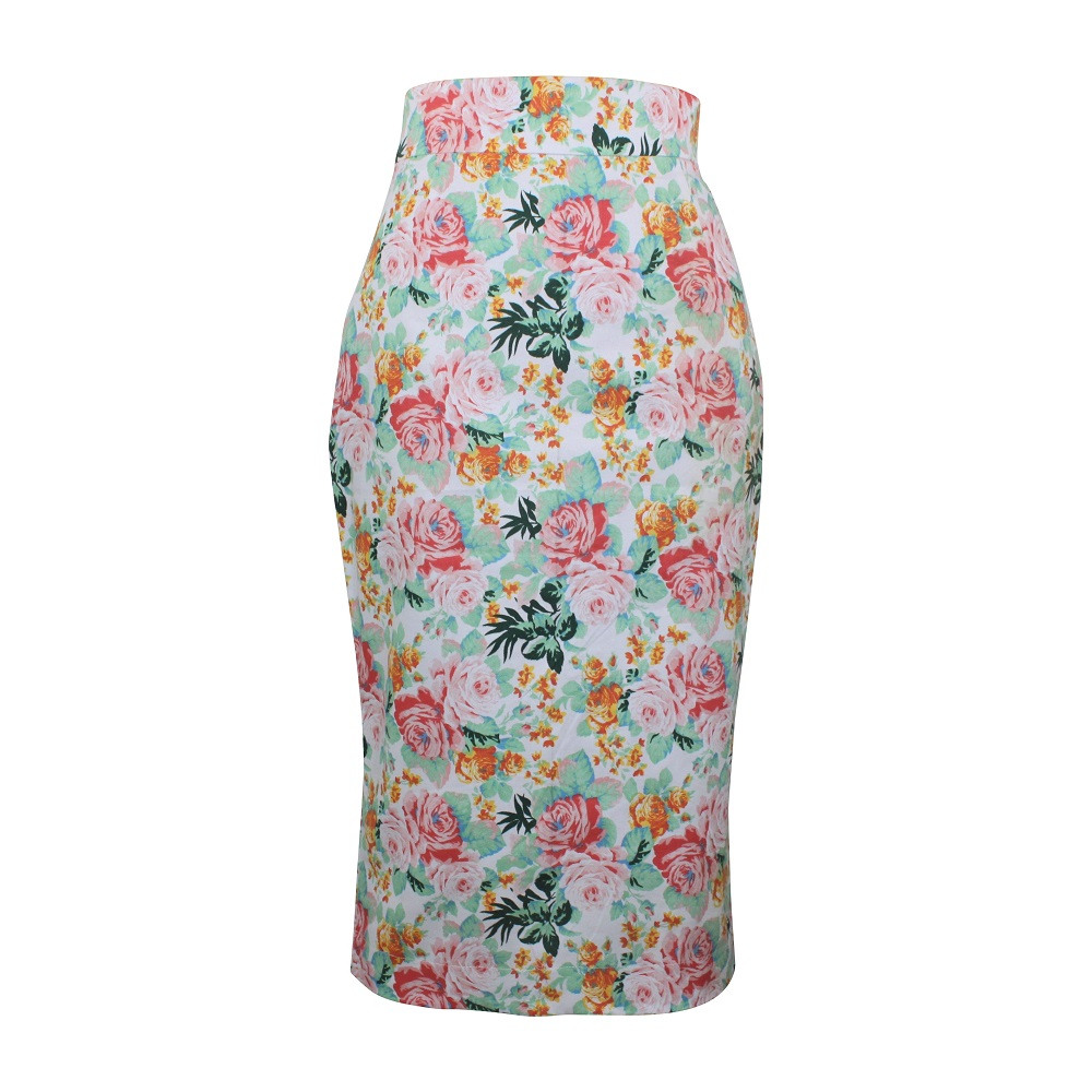 Rosa Pencil Skirt - Baby Pink