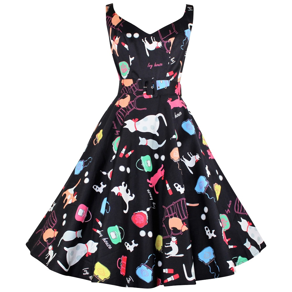 Misty Swing Dress - Bagpuss