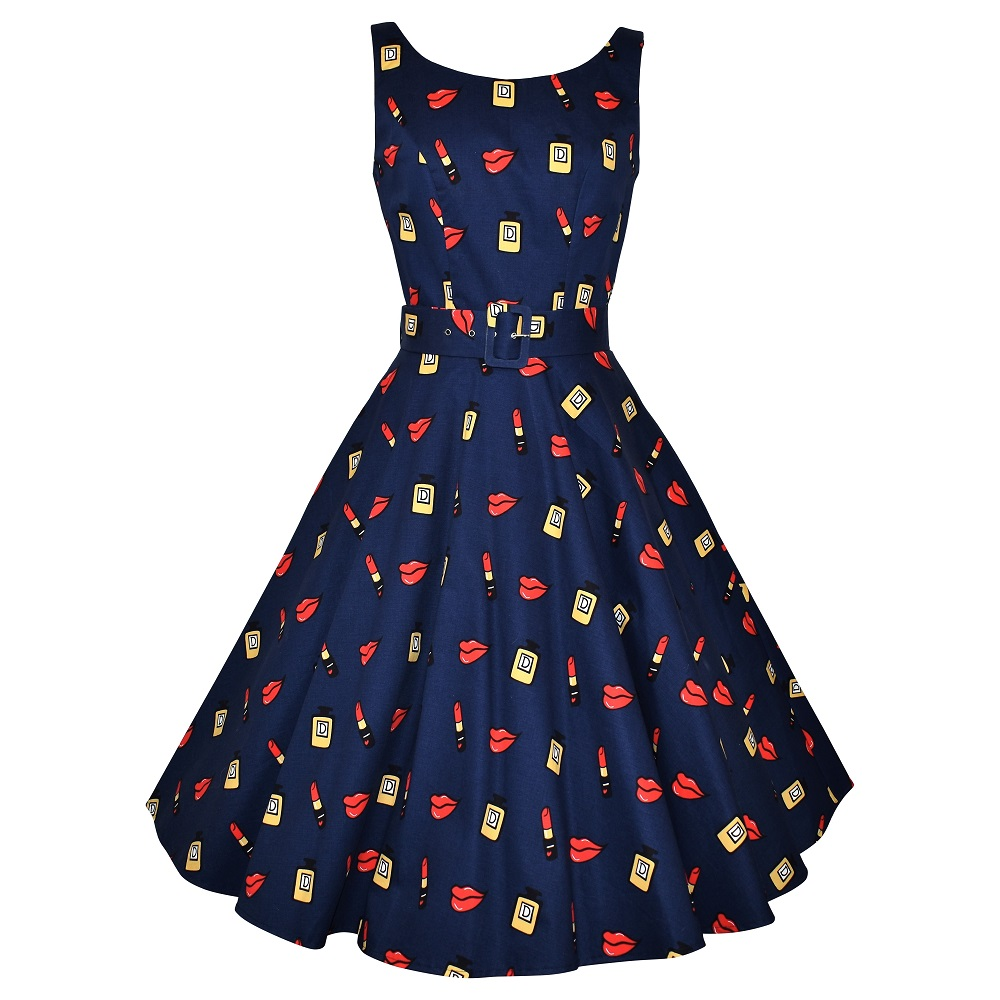 Ballerina Swing Dress - Lucky Lips