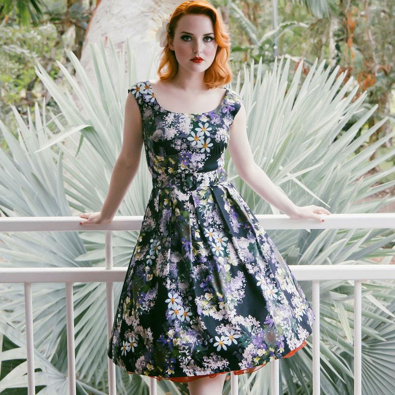 Julie iris vintage dress