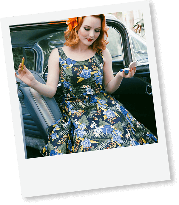 Vintage dresses and fashion
