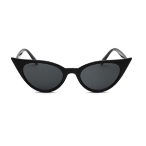 Catseye sunglasses with black frames