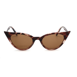 Catseye sunglasses with tortoiseshell frames